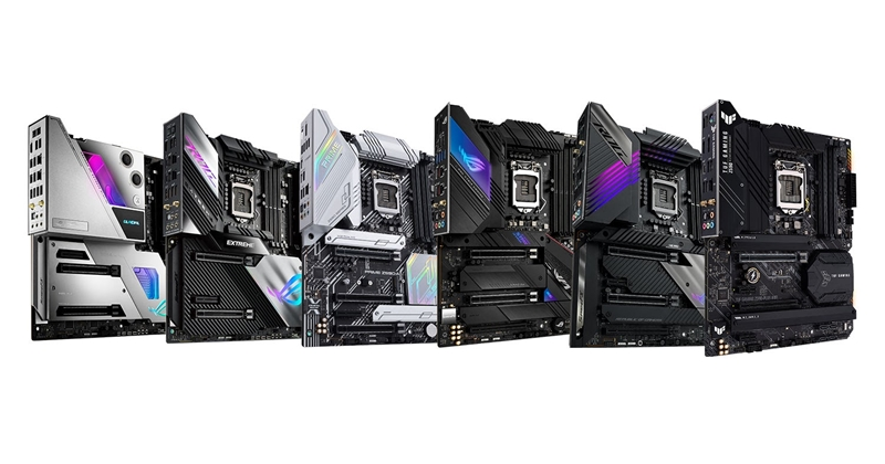 Asus announces Z590 motherboards, showcasing the best of 11th generation Intel Core processors