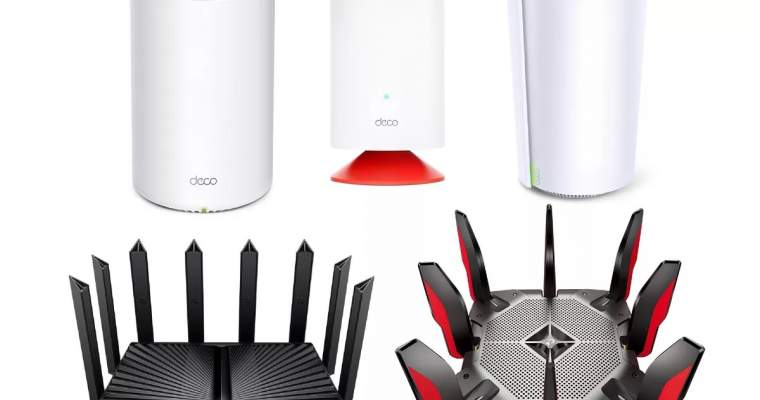 DP-Link announces 6E WiFi routers and new smart products
