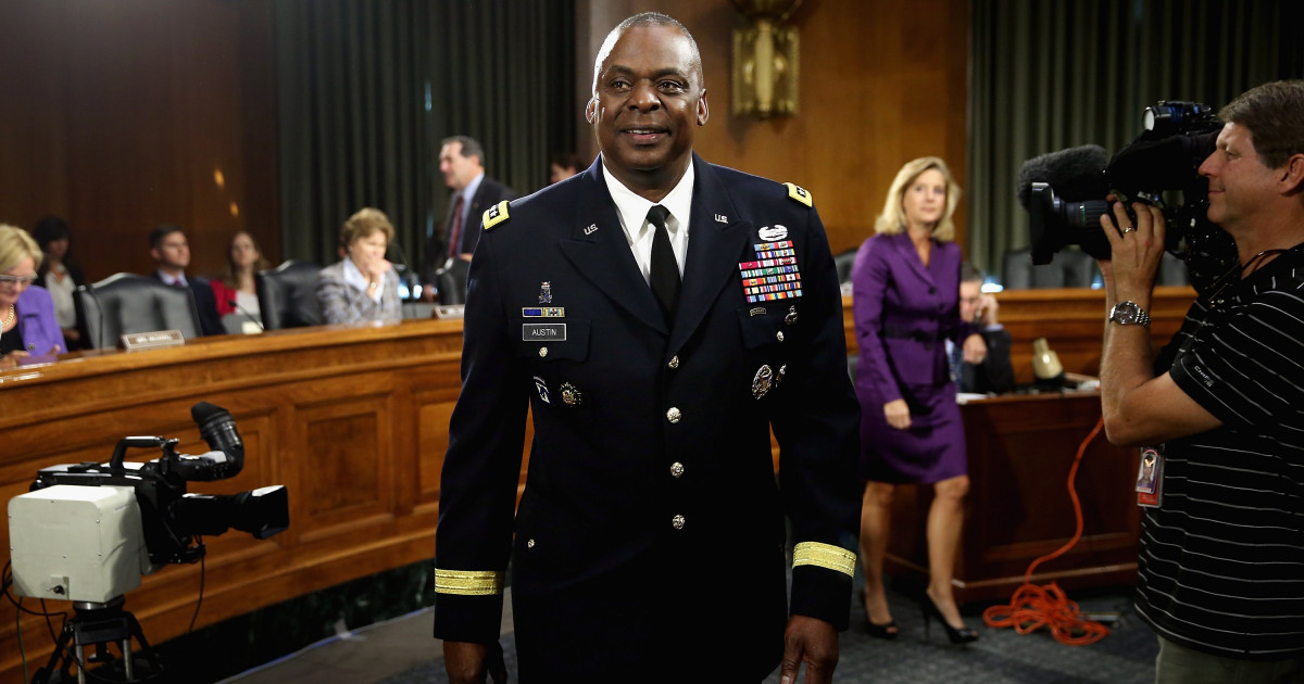 Lloyd Austin will be appointed Secretary of Defense in the Biden administration.  The Pentagon must have its first color (press)