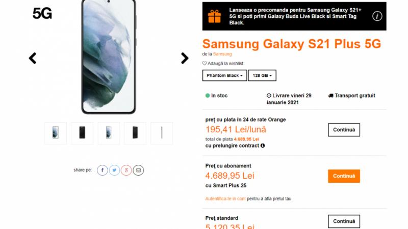 Samsung Galaxy S21 Plus in Orange Offer Pays in 5G Installments: GadgetRo – Hi-Tech Lifestyle