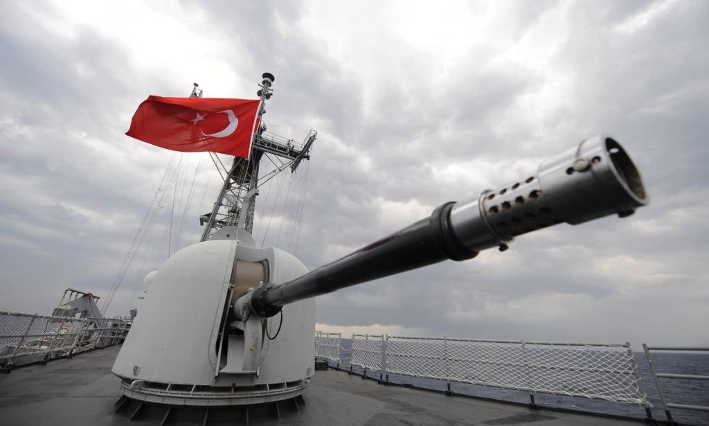 Two battalions will teach Americans to swim in the Aegean Sea