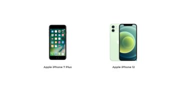 What is the difference .. Find out the differences between iPhone 12 and iPhone 7 Plus