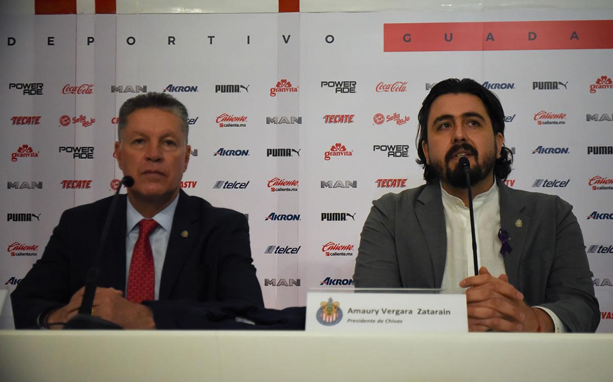 Amari Vergara tells fans to buy Shivas jerseys for reinforcement