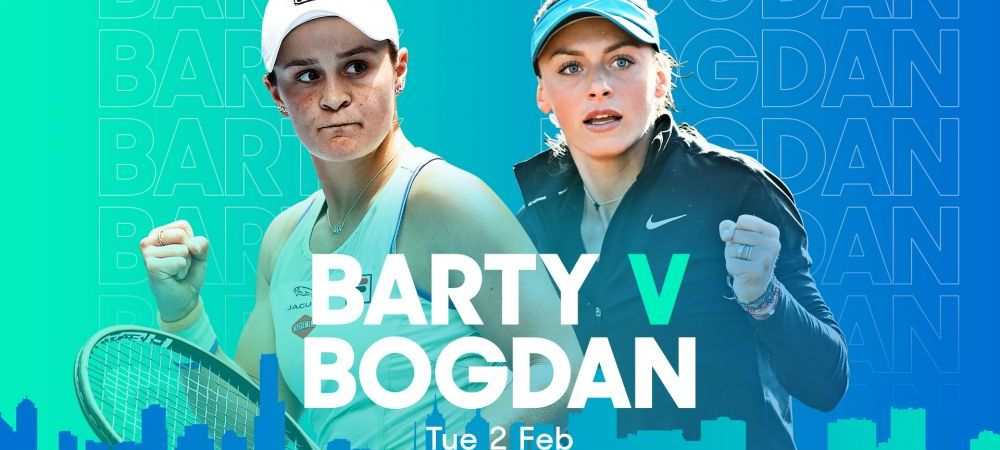 Ana Bogton defeated world leader Ashley Party 3-6, 3-6: Irina Begu, unbelievably qualified for eighth place