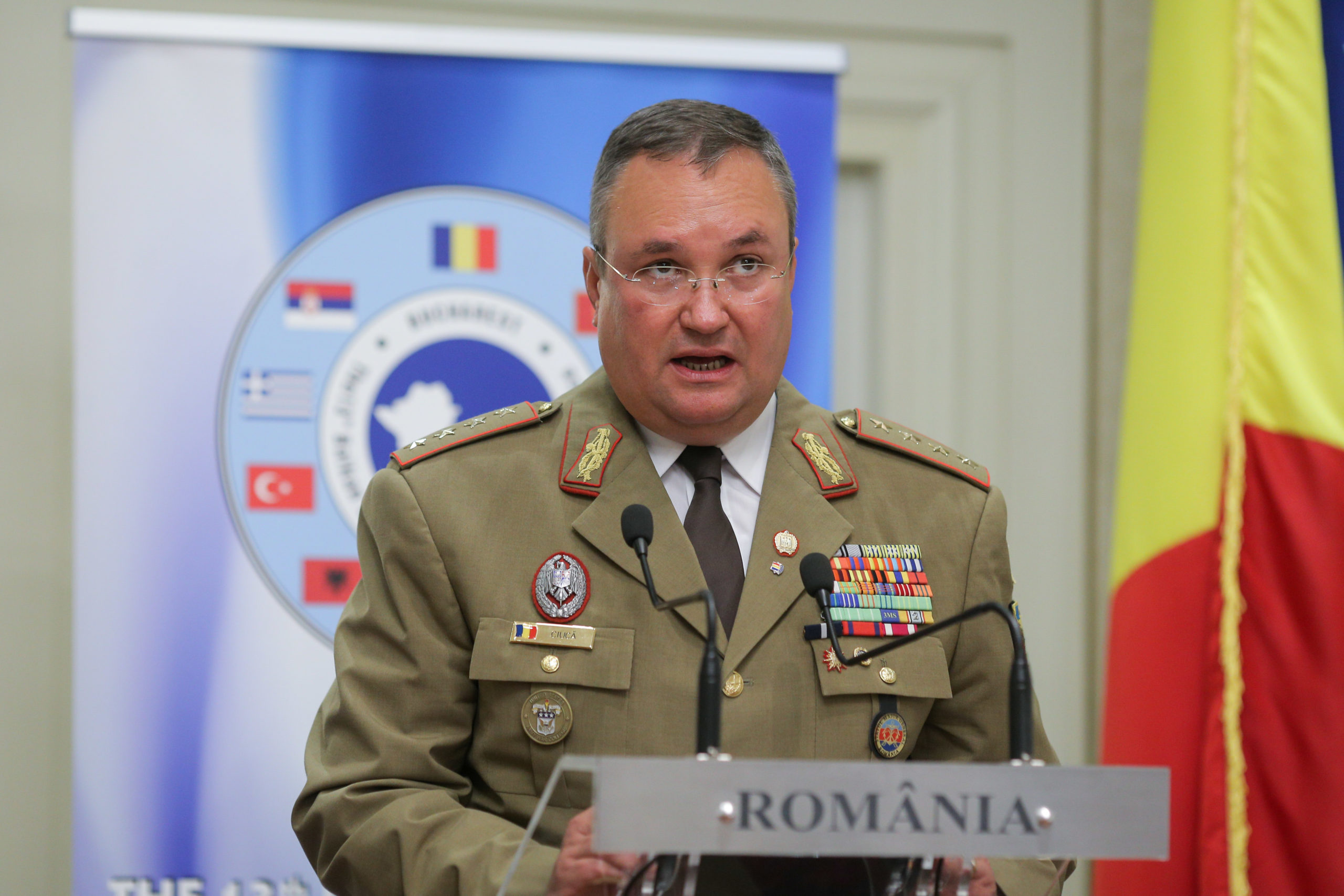 Romania attacked the United States.  That's an honor.  This is the largest American civilian medal