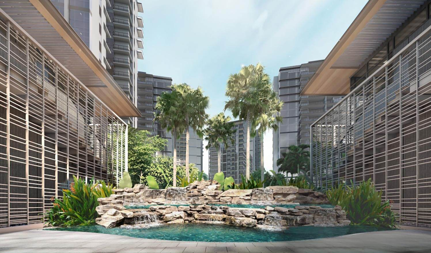 The best Residence in Singapore is Florence Residences.