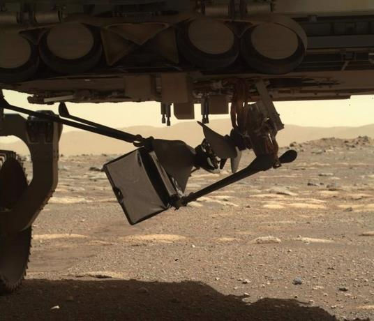 Mars helicopter ingenuity deployment begins