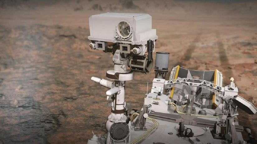 NASA |  Diligence reaches the first audio recording on Mars
