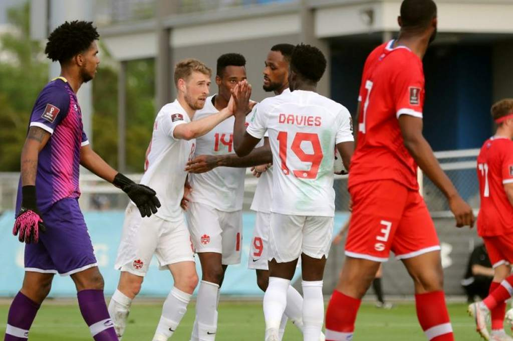 This is the Confederations Cup: Canada beat the Cayman Islands in the World Cup qualifiers – ten