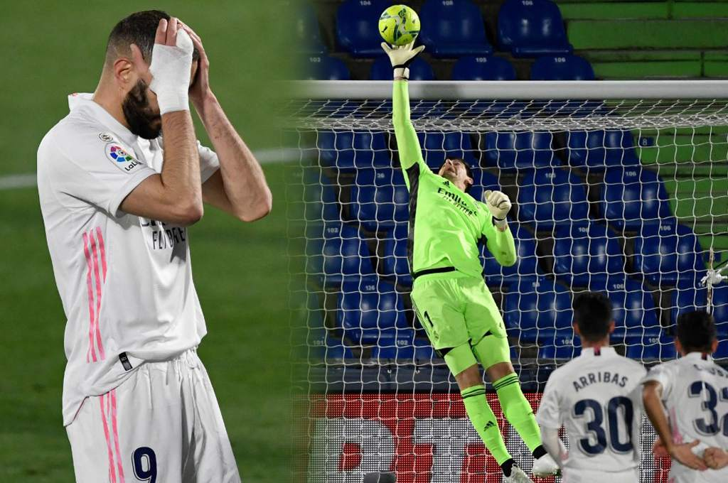 Courtois avoids Real Madrid defeat against Getafe and withdraws from Atletico in the Spanish League – Dice
