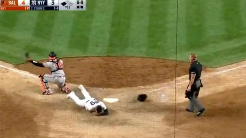 MLP shot Orioles beat Yankees Urshela injury