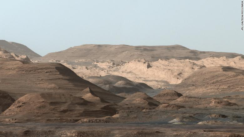 Mars does not lose all its water at once, expressing curiosity