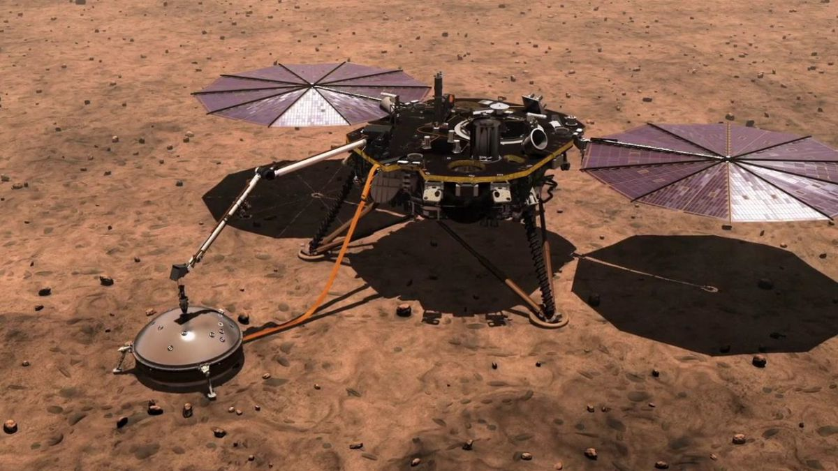 NASA's Insight has detected two earthquakes on Mars