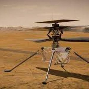 NASA's helicopter is ready for its first flight to Mars on Sunday
