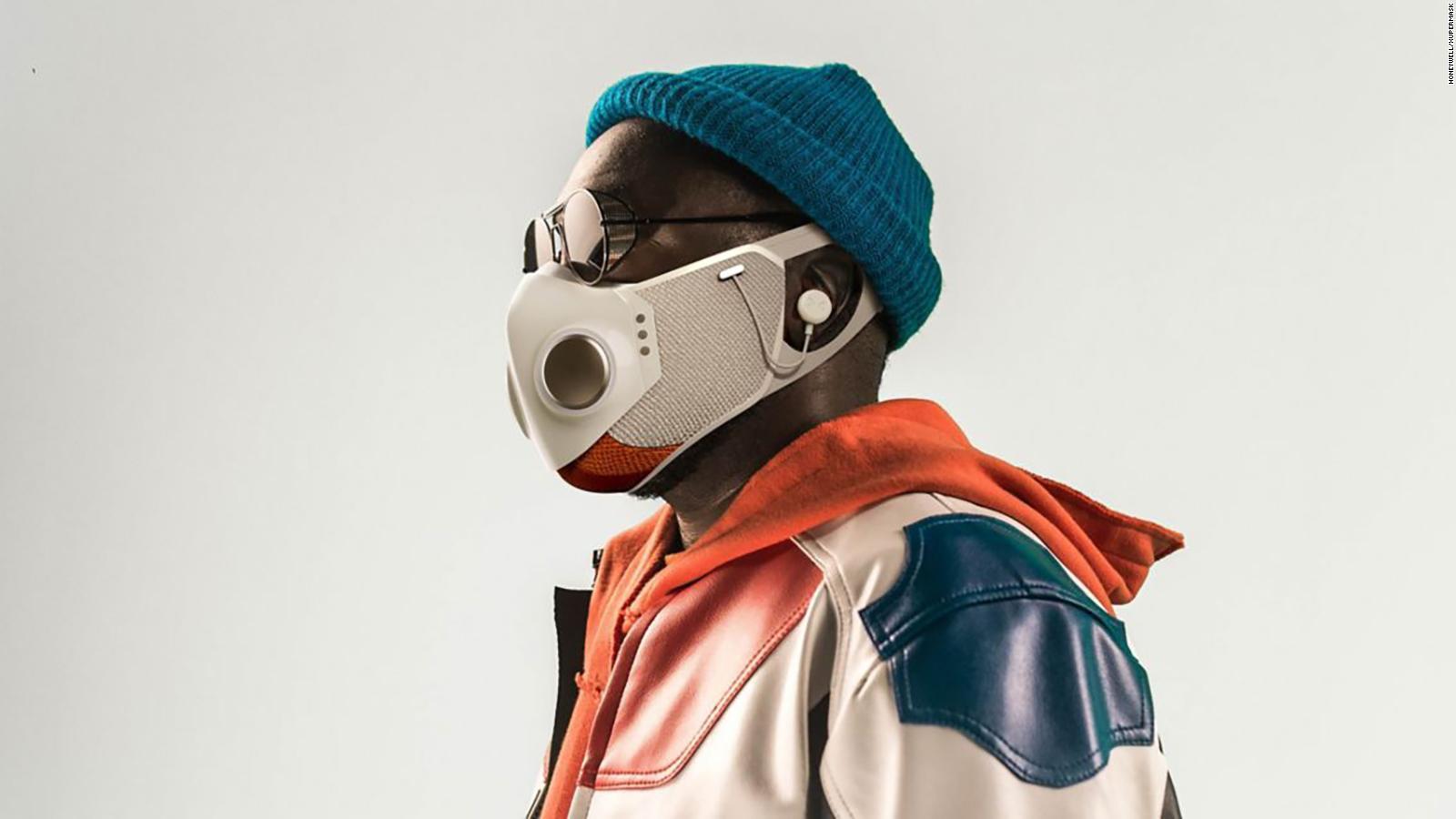 Rapper announces will.i.am $ 299 Smart Face Mask