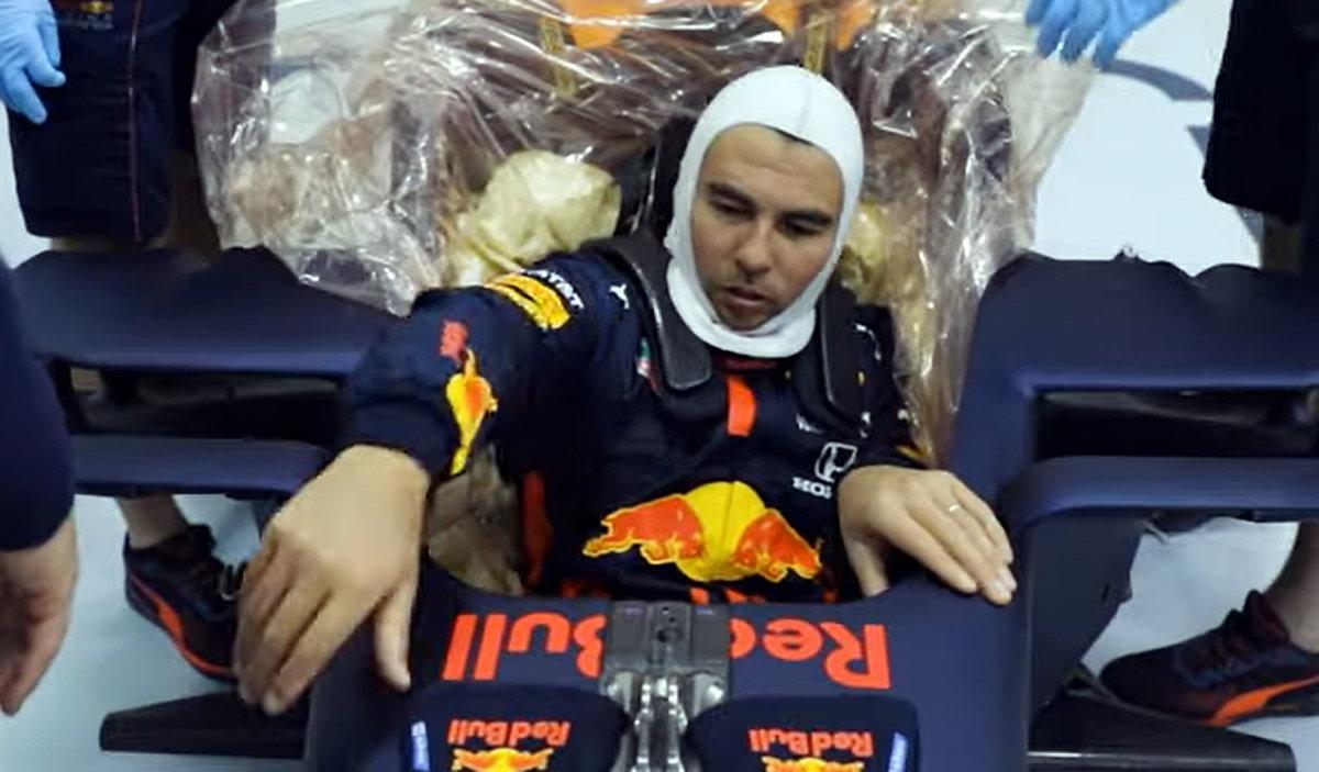 Red Bull recognizes Seko Perez 's clarity of mind to repair his car