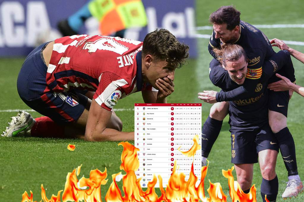The Spanish League is on fire!  Atletico de Madrid lose and Barcelona could be the new leader – Dice