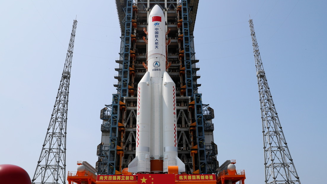 Video: China launches the central block of its space station into space