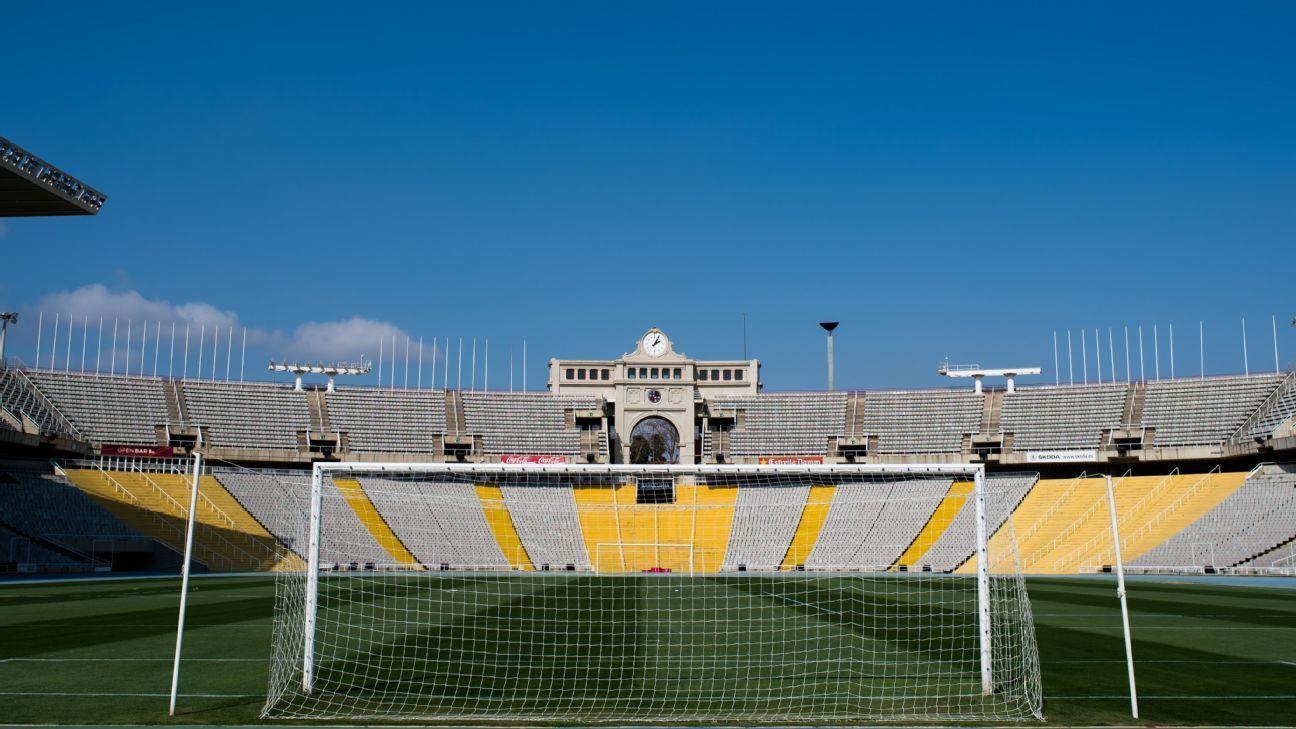 Barcelona begin negotiations to play temporarily at Montjuic Stadium