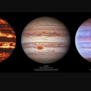Catch an intriguing feature of Jupiter's Great Red Spot