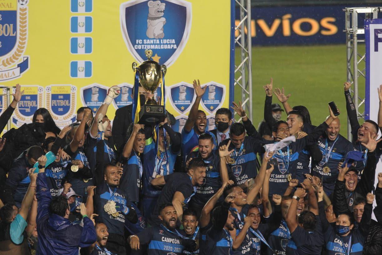 Celebration of Champion Santa Lucia at Toroto Guamuch Flores Stadium – Brenza Libre