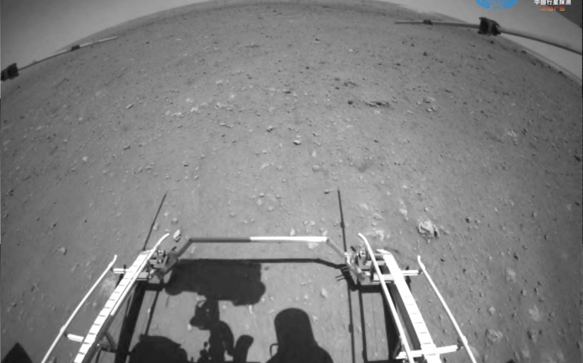 China considers its rover to travel over the surface of Mars for the first time