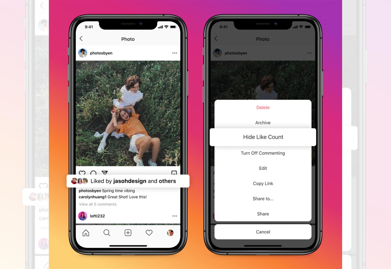 Facebook and Instagram say goodbye to 'options' (if you choose)