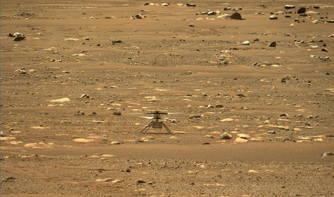 Gallery: Historical photos of the ingenious helicopter on Mars
