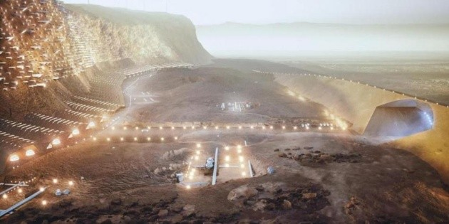 It will be the first city to be on Mars in 2100, Nava