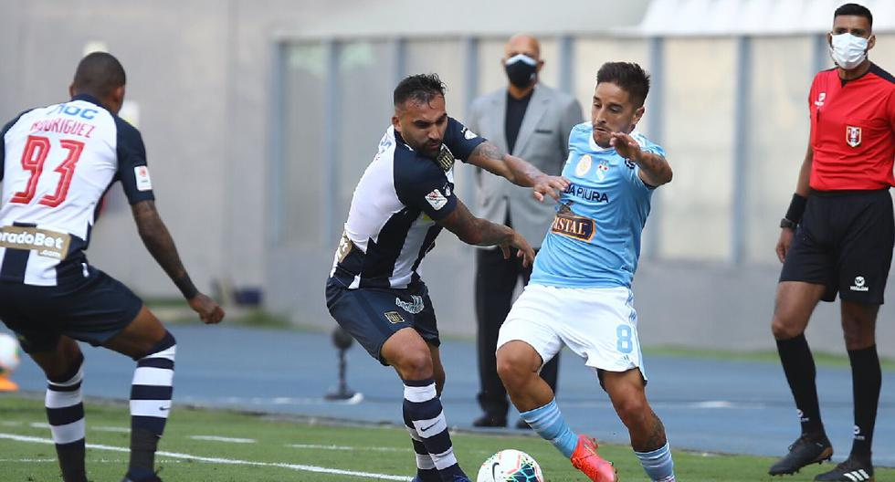 National |  Allianza beats Lima 2-1 in the game Crystal Football-Peruvian