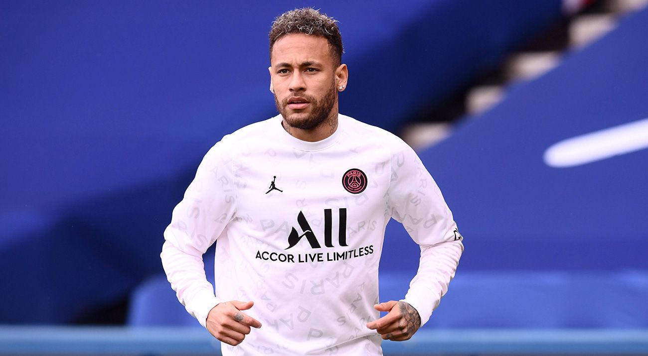 Neymar's message on PSG's 'KO' …