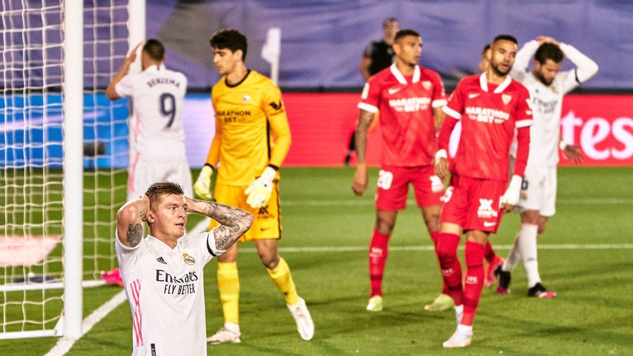 Real Madrid and Sevilla leave La Liga hot;  'Athletic' depends on itself