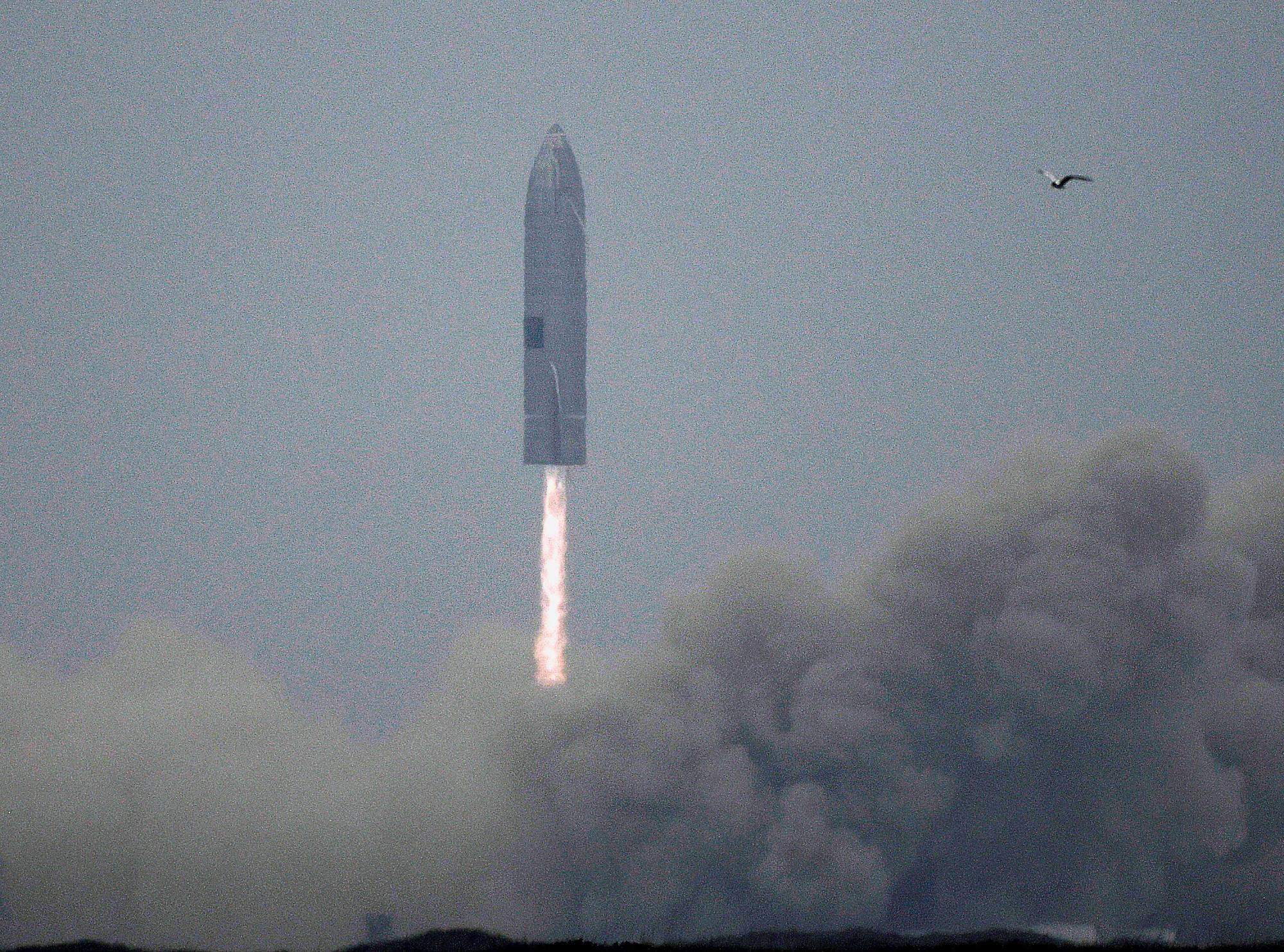 SpaceX makes the fifth test landing of its starship rocket