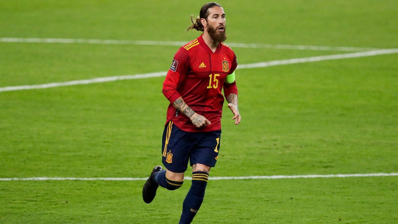 Spain knock out Sergio Ramos for Euro Cup