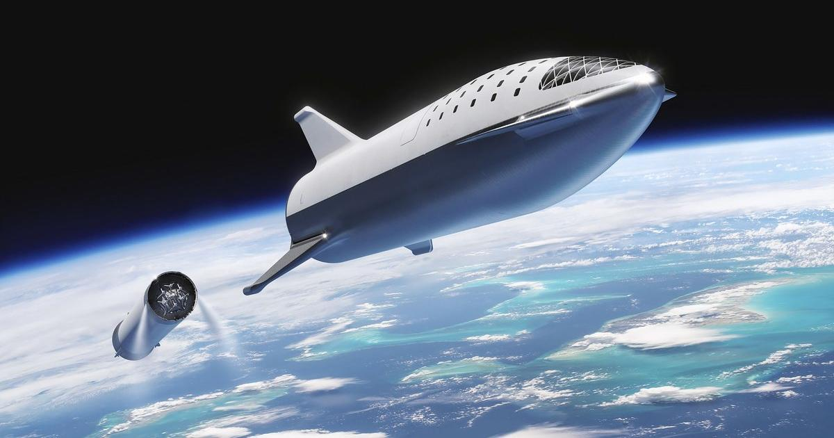 The SpaceX rocket will fly over Cuba