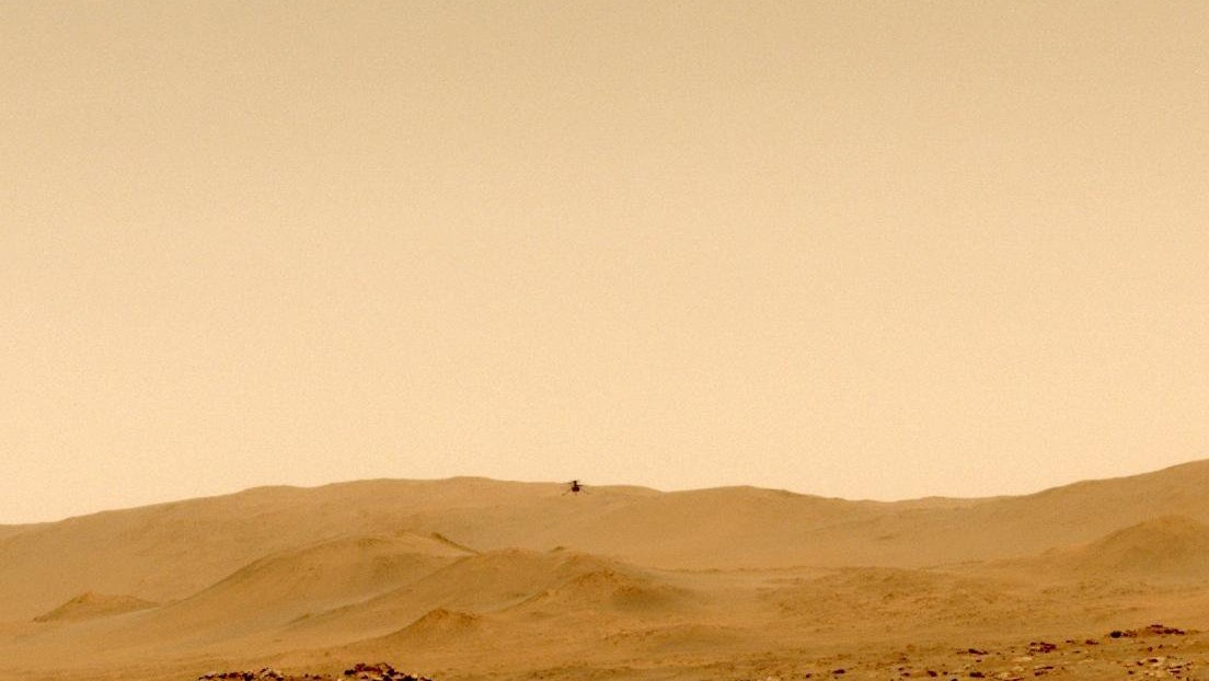 Video: NASA's ingenious helicopter sets new records on Mars' fifth flight