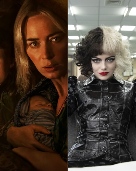 The first actual test of the summer box office is 'Cruella' and 'A Quiet Place Part II.'