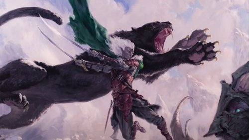 A leaked Magic: The Gathering card hints at a new mechanic inspired by Dungeons & Dragons.