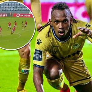 Albert Ellis' goal against Santa Clara Portugal fans choose the best of the month – ten