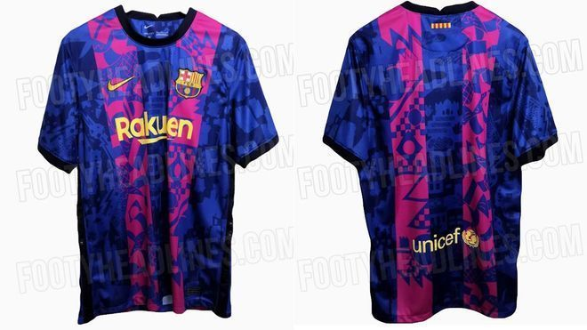 Barcelona will wear a 'special' shirt to play in the Champions League
