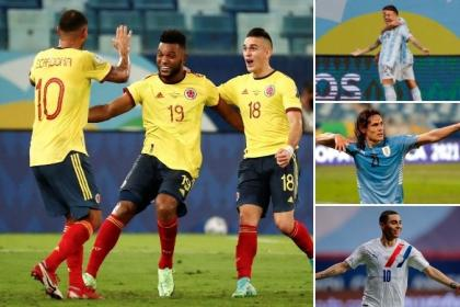 Colombia: Argentina, Paraguay and Uruguay draw against rivals in Copa America |  United States Cup 2021