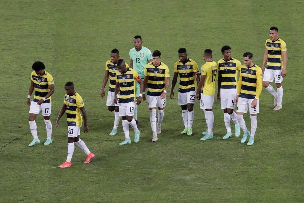 Copa America    Ecuador Progress Numbers    Football    Sports