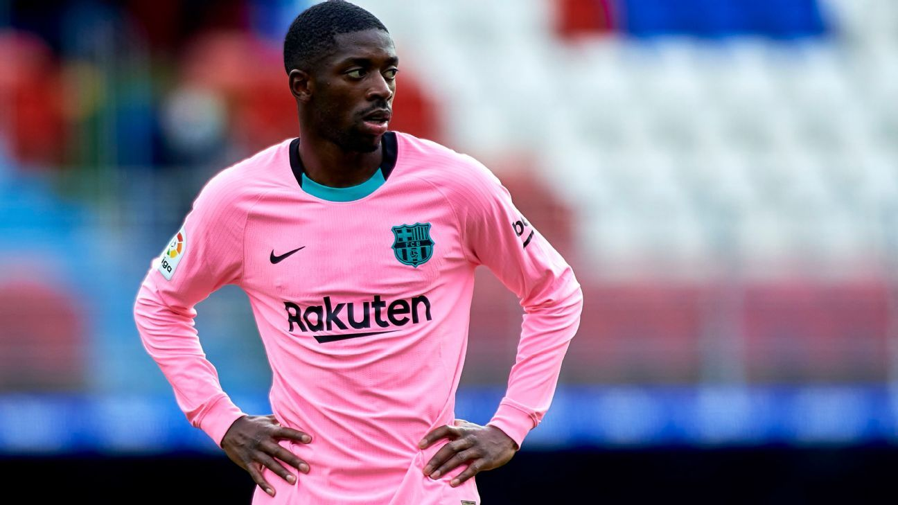 Dembele opens his future in Barcelona and speaks of Messi as a leader