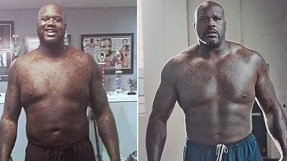 Shahul O'Neill's amazing body transformation