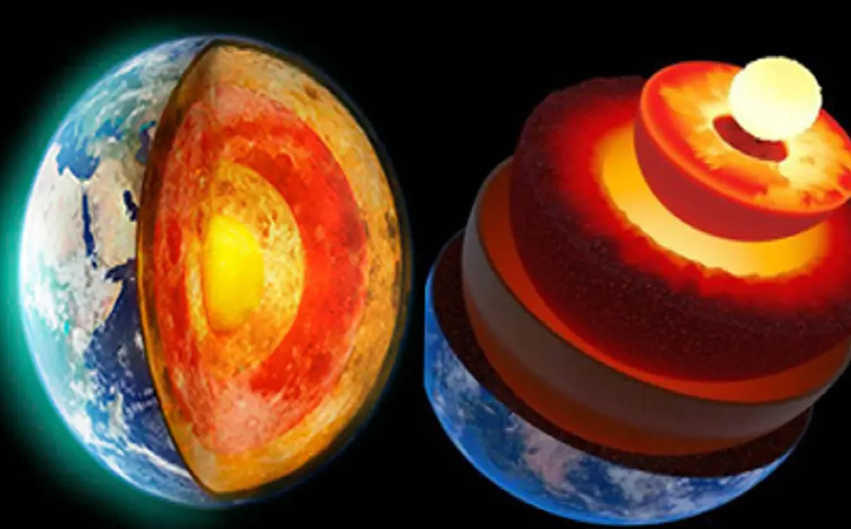 They find a hidden layer in the center of the earth