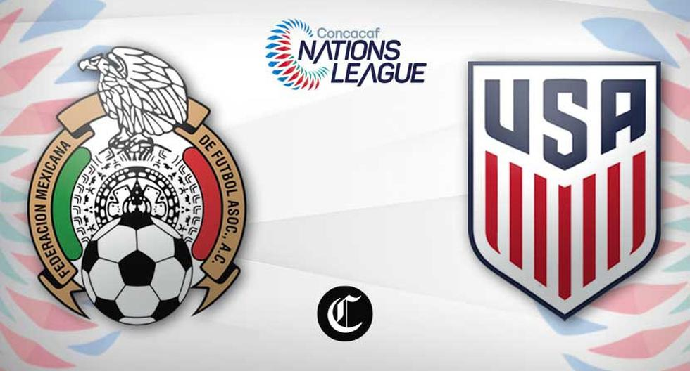 Vs. Mexico.  United States Live: TV Channels and the Confederations League 2021 |  Today's matches |  Live Football |  Mexico |  United States |  mx us |  NCZD |  Game Total