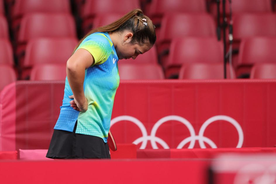 """Adriana Thias after the defeat: """"This is not the result I expected today"""" 