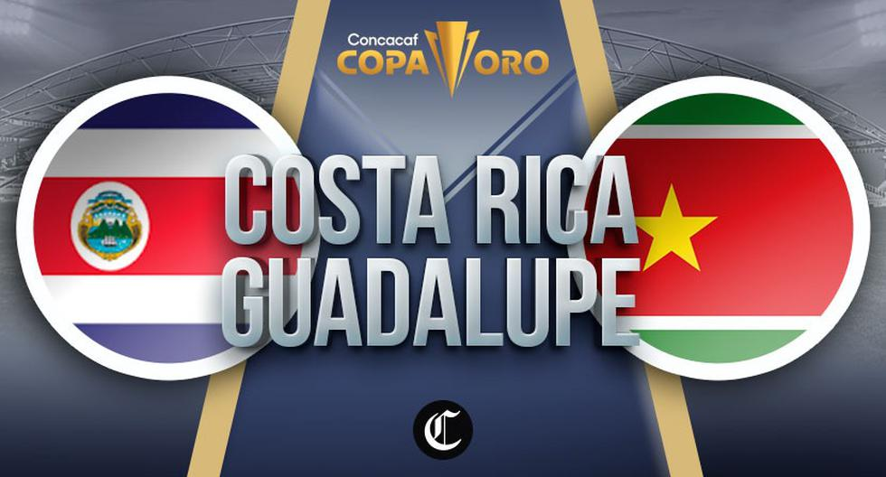 Against Costa Rica.  Live Guadeloupe for free: 2021 Gold Cup online for free via TeleTica 7 TUDN |  Concoff |  Costa Rica |  Guadeloupe |  NCZD DTBN |  C.R. |  Game Total