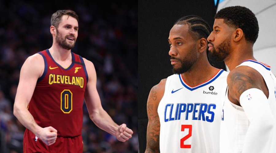 Clippers to form a big trio with Kevin Love and his two stars