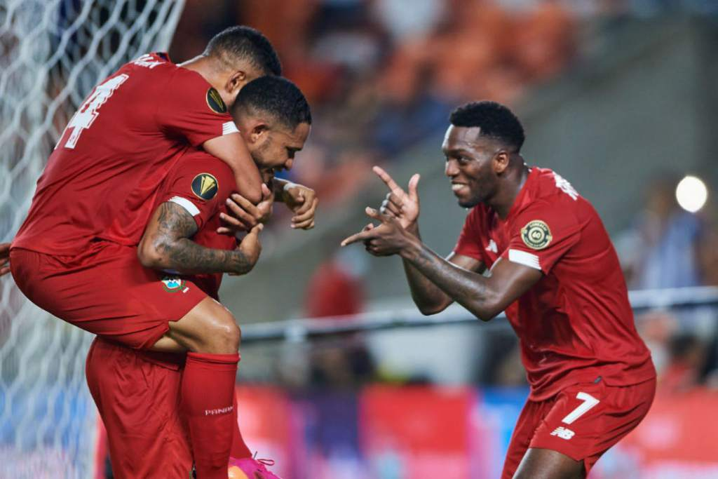 Houston – Panama recovering a dive against Qatar in the Gold Cup in a six-goal match at Tees